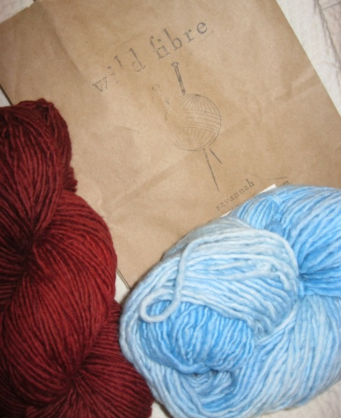 Wild Fibre yarn