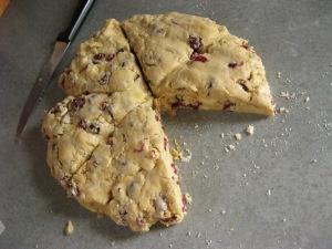 raw scones