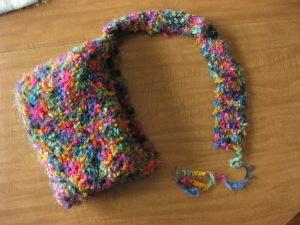 nearly finished knit