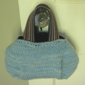 Surf Blue Bubble Purse, second view