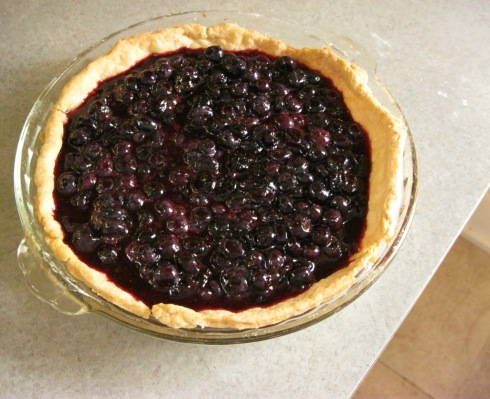 Laura's Blueberry Pie